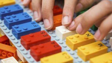 Mattoncini Lego Braille