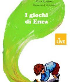 """Copertina di """"I giochi di Enea"""" di Elisa Rossoni"""